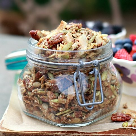 Grain-Free Superseed Granola