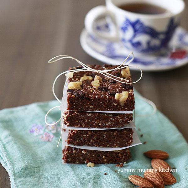 Brownie Energy Bars