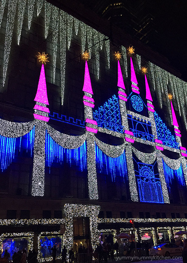 Saks 5th Avenue Christmas Windows