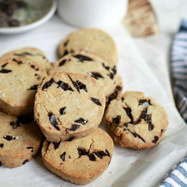 Vegan Paleo Chocolate Chip Cookies