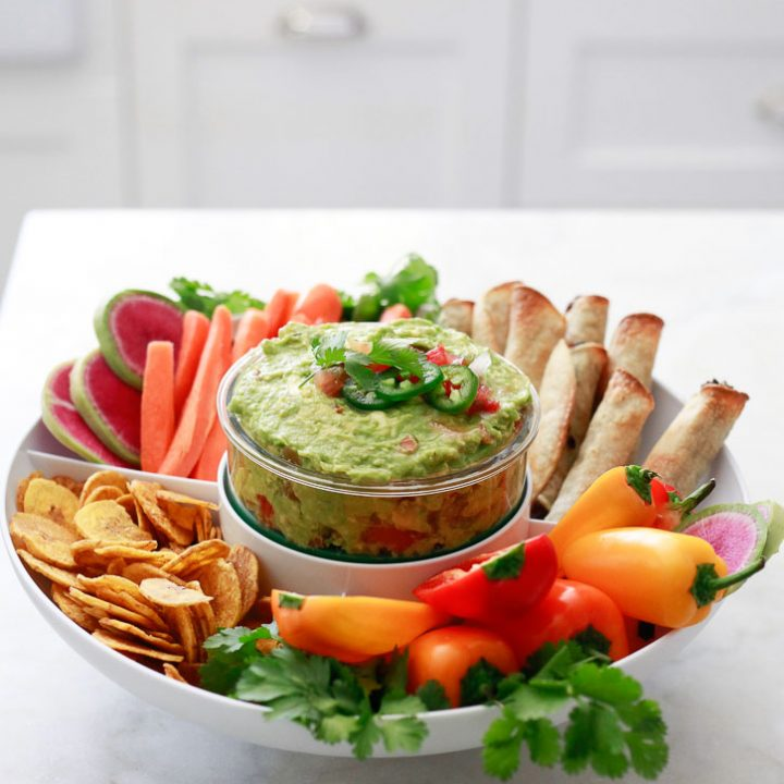 Easy Guacamole with Salsa
