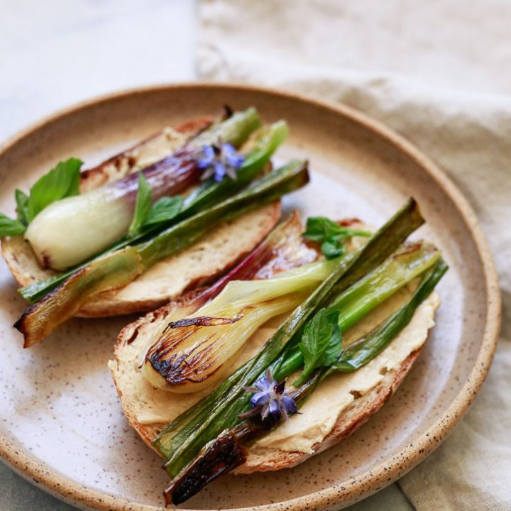 Spring Onion Toasts