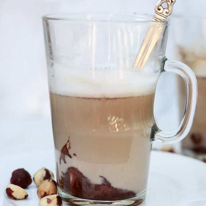 Chocolate Hazelnut Latte