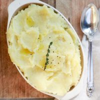 Vegan Mashed Potatoes