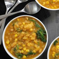 Vegan Pumpkin Soup in the Instant Pot (or on the Stove!)