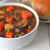Hearty, Delicious Mushroom Stew