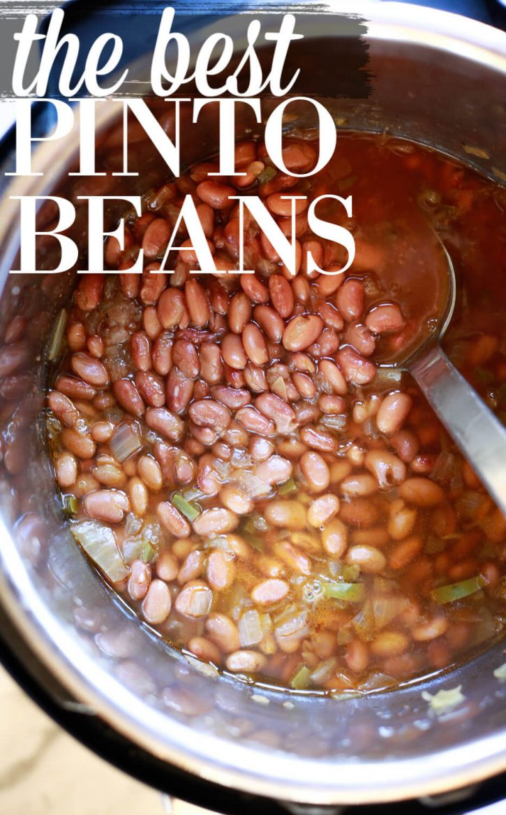 Pinto Beans Recipe Crock Pot Stovetop Or Instant Pot Pinto Beans