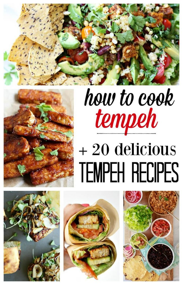 20 best tempeh recipes from tempeh bacon to sandwiches to salads. Find out what is tempeh, how to cook tempeh, and the best tempeh recipes.