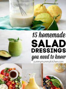 Healthy vegan salad dressing recipes.