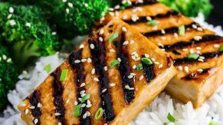 Sesame Ginger Grilled Tofu
