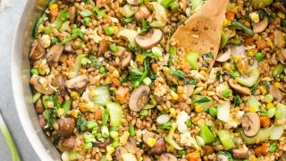 30-Minute Farro Fried Rice