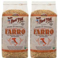 Organic Farro Grain, 2 / 24 Oz. Bags, Bob's Red Mill by Bob's Red Mill