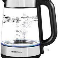 Electric Glass and Steel Kettle - 1.7 Liter