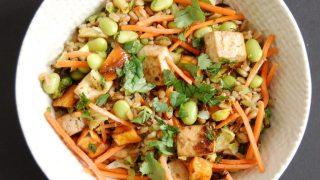 Buddha Bowl with Crispy Baked Tofu