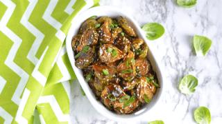 Teriyaki Brussels Sprouts (Vegan Gluten-free)