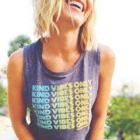 KIND VIBES ONLY TANK