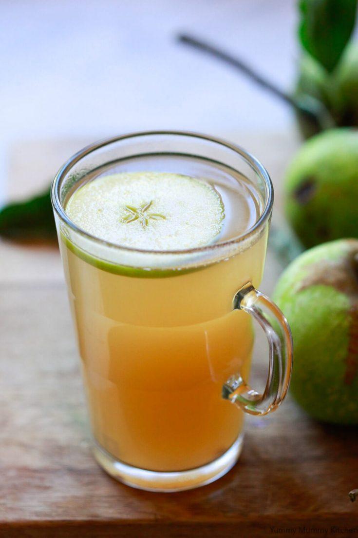 A delicious warm apple cider vinegar dink recipe that tastes like hot apple cider. Apple cider vinegar detox drinks made with Bragg's ACV.