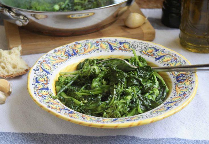 Sautéed Rapini (Broccoli Rabe or Raab)