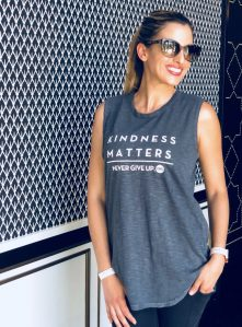 Kindness matters tank top. Self care healthy vegan gift guide.
