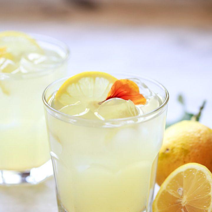 Lemon Ginger Apple Cider Vinegar Cleanse Detox Drink
