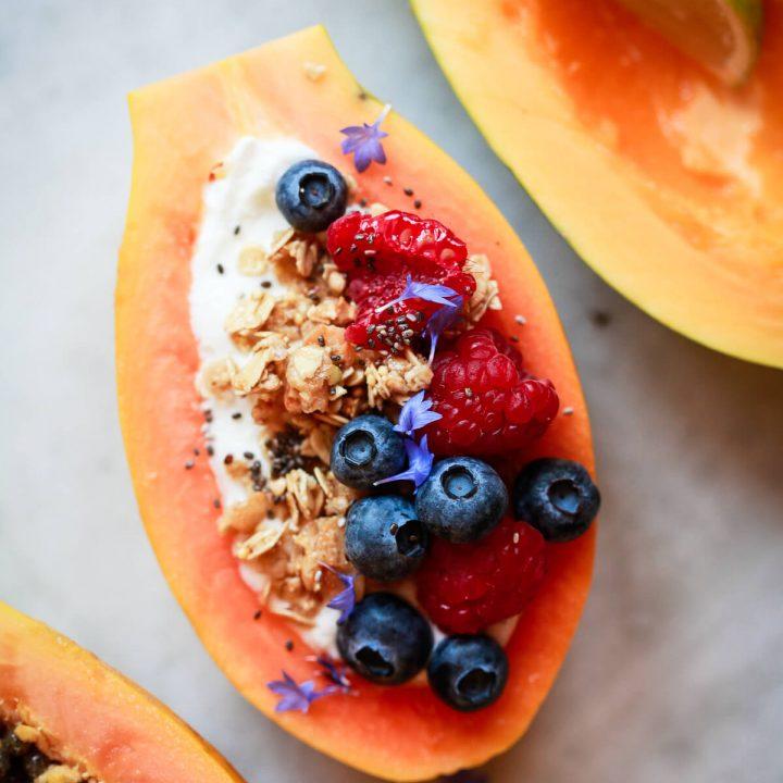 How to Cut & Eat Papaya