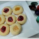 Thumb Print Cookies / Jam Drops