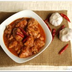Garlic and Kashmiri Chilly Chicken
