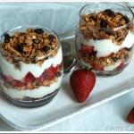 Strawberry and Granola Parfait