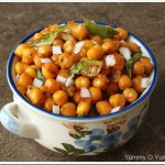 Simple Chana Fry / Vella Kadala Fry
