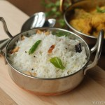 Coconut rice / Thenga Sadham / Thenga Choru
