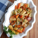 Roasted Root Vegetables / Healthy Recipes