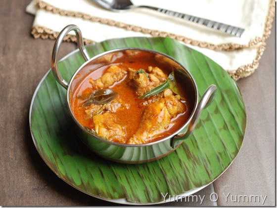 Chicken curry - Travancore style