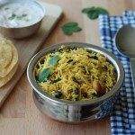 Methi (Fenugreek leaves) Pulao