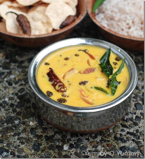 Thakkali moru curry