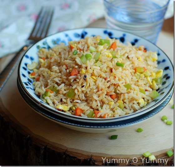Burnt garlic fried rice - 877