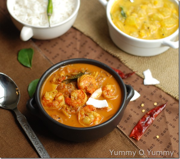 Grandma's prawn curry