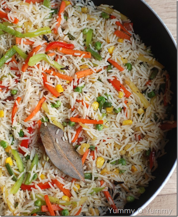Mixed vegetable rice2