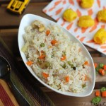 Vegetable Ghee Rice – Kids' Lunch Idea 8