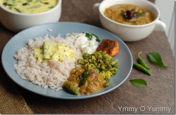 Mashed eggplant curry