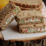 Cream Cheese Vegetable Sandwich With Video