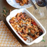 Chicken Sausage and Veggie Pasta Bake