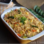 Nadan Vegetable and Egg Fried Rice