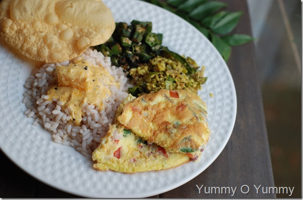 Kerala special omelet