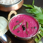 Beetroot Pachadi–Sadya Recipe