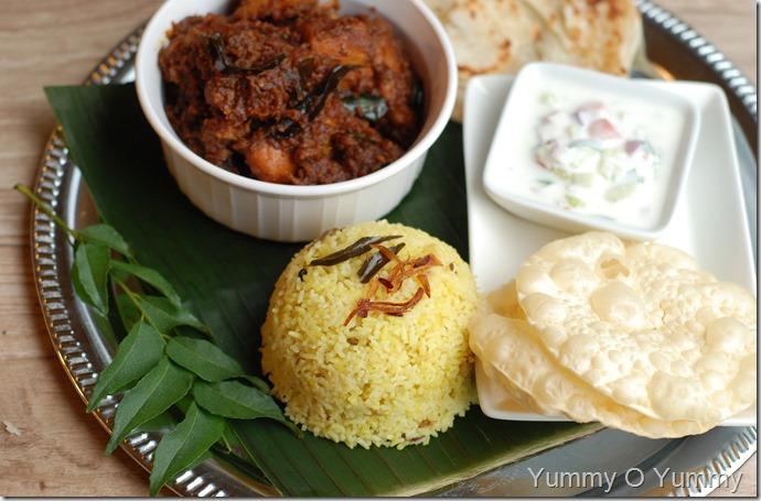 Malabar coconut rice