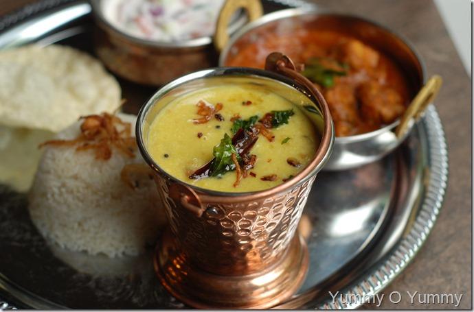 Malabar style dal curry