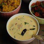 Vellarikka (Yellow Cucumber) Moru Curry