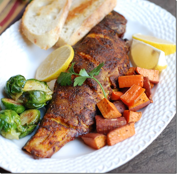 baked trout2