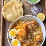 Hyderabadi Egg Biriyani