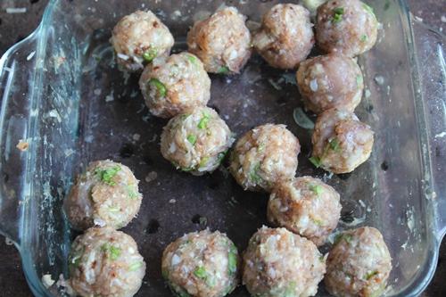 sticky meatballs